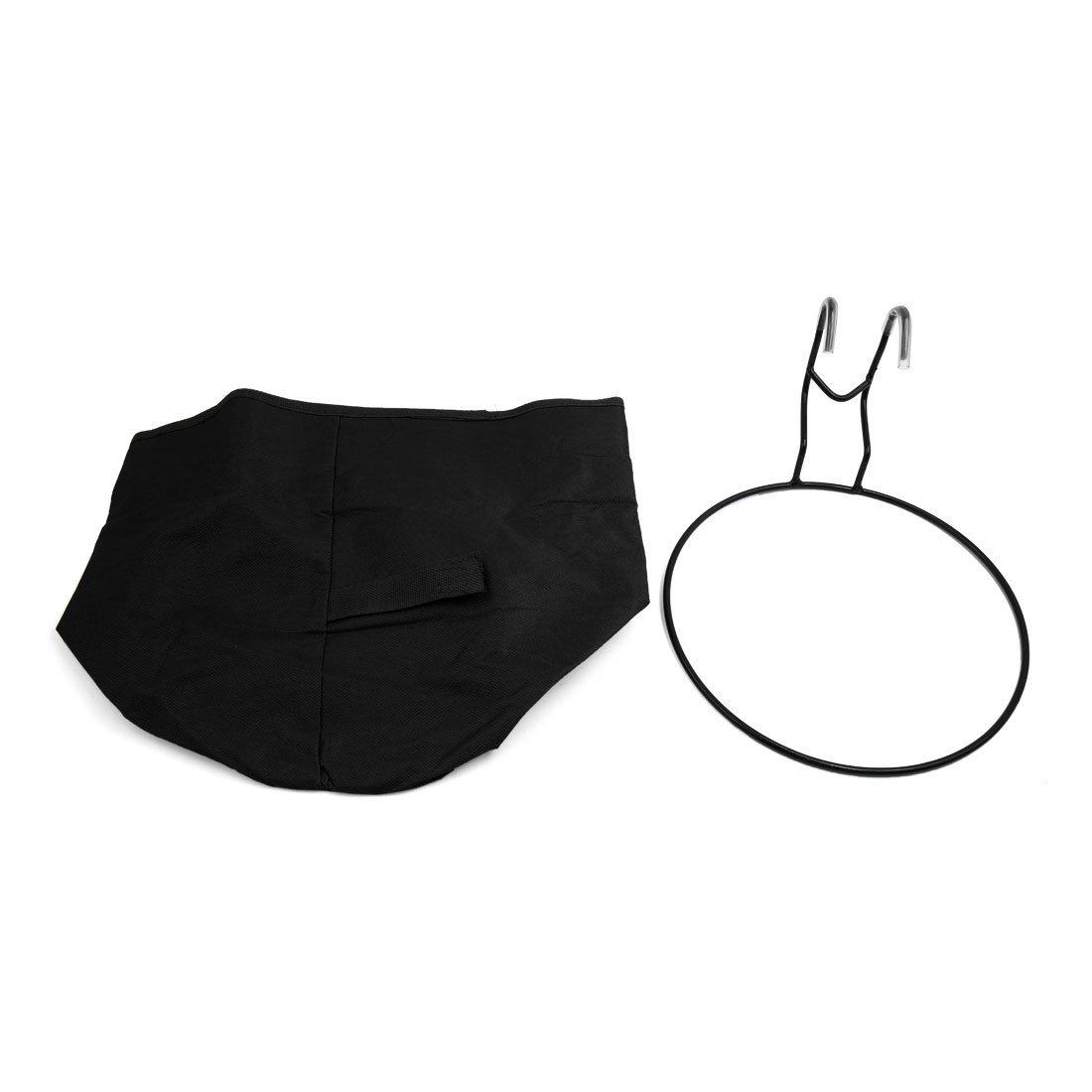 Amazon.com : eDealMax Titular Para Bicicleta plegable Negro frente de la cesta del bolso del manillar de almacenamiento : Sports & Outdoors