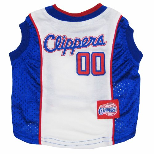 Los Angeles Clippers NBA dog pet tank jersey L 32-48lbs by pf