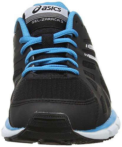 ASICS Gel-Zaraca 3 - Zapatillas de deporte para hombre Negro (Onyx / Silver / Atomic Blue 9993)