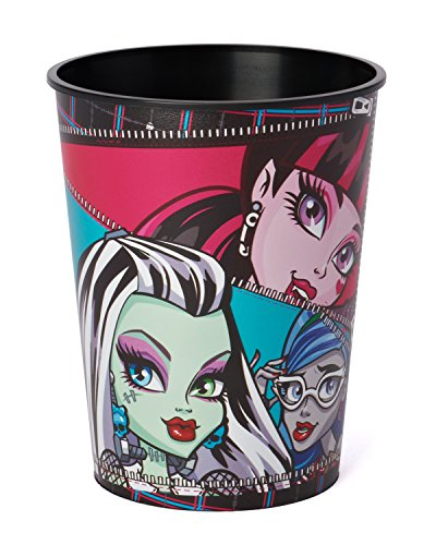 American Greetings Monster High Plastic Cup (Party Supplies) 16-Ounce