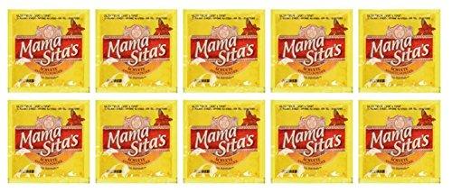 Mama Sitas Achuete Annatto Powder All Natural (Pack of 10 x 10 gram)