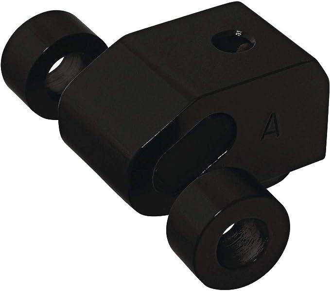 Memphis Shades Black Wide Headlight Extension Block MEB9885