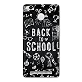 CrazyInk Premium 3D Back Cover for Xiaomi Redmi 3x - Back to School