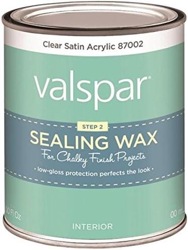 Valspar Corp 410 0087002 004 Valspar Chalky Clear Sealing Wax