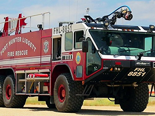 - Taking a Military Fire Truck Off Road!