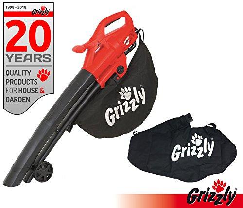 Grizzly EL 2800 3-in1 Eléctrico Soplador, aspirador y triturador ...