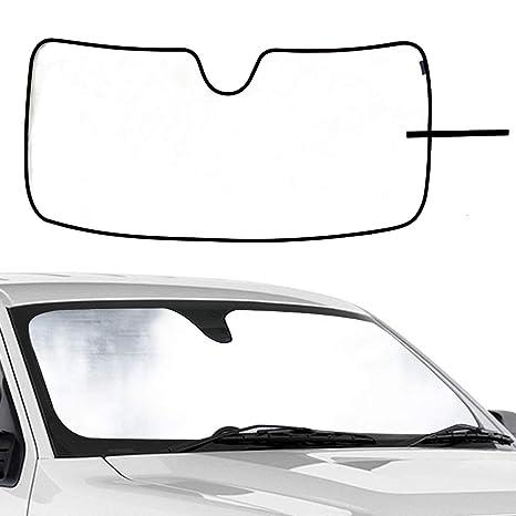 WINUNITE Front Windshield Sunshade Sun Shade for Ford F150 W Lane Depart  Sensor 2015 2016 e86ed4ca894