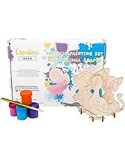 Creative Deco Temperas Lavable Pintura Niños Bebes de Dedos