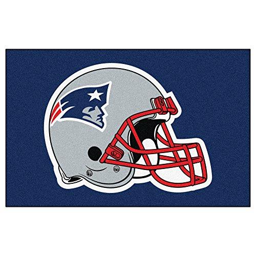 FANMATS NFL New England Patriots Nylon Face Starter Rug (New England Patriots Wall Border)