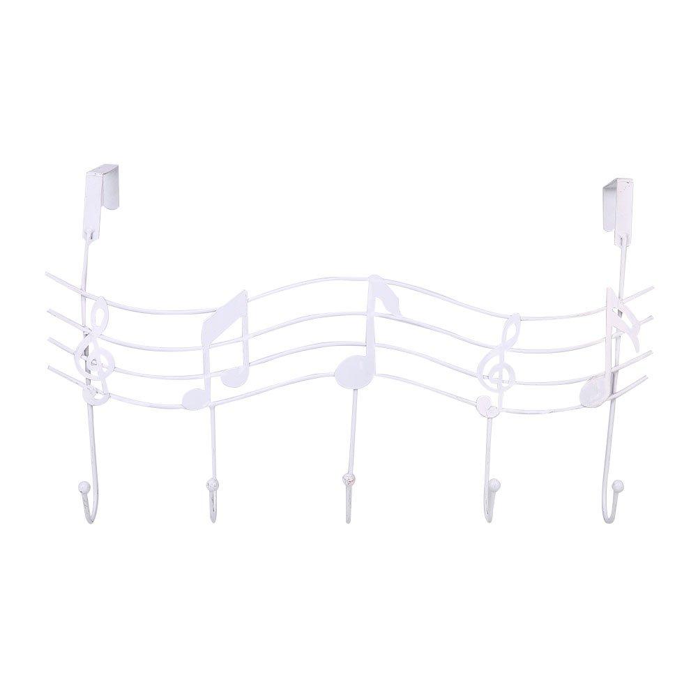Metal Music Style Hook Hanger Organizer Holder Decor Hanger Iron Gift Beautyrain