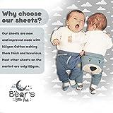 Bear's Little Fish 3-Pack of Bassinet Sheets