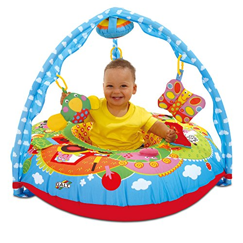 Galt Toys, Playnest & Gym - Farm, Baby Activity Center & Floor Seat - Farm Activity Toy