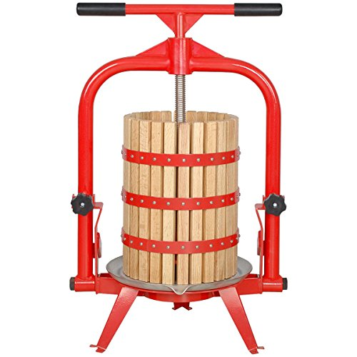 MacIntosh Fruit Press 5 Gallon + Wood Basket (Cider Press)