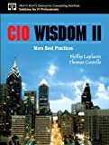 img - for CIO Wisdom II: More Best Practices (paperback) (Harris Kern's Enterprise Computing Institute Series) book / textbook / text book