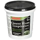 Rutland Furnace Cement Cartridge, 1-Quart, Black