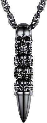 pendentif collier tête de mort 7