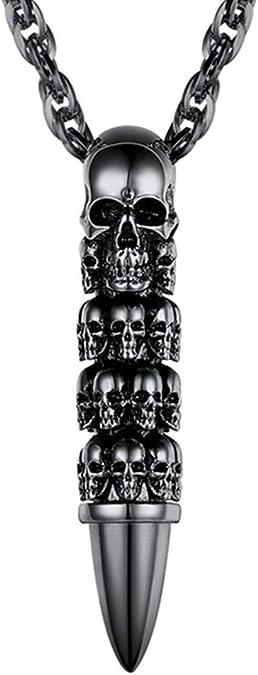 Acheter pendentif tete de mort online 3