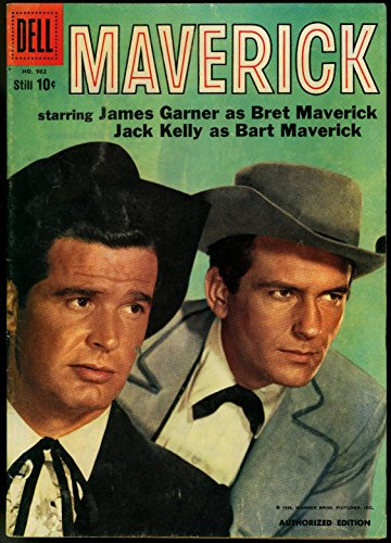 MAVERICK FOUR COLOR COMICS #962 1958-DELL-PHOTO CVR FN