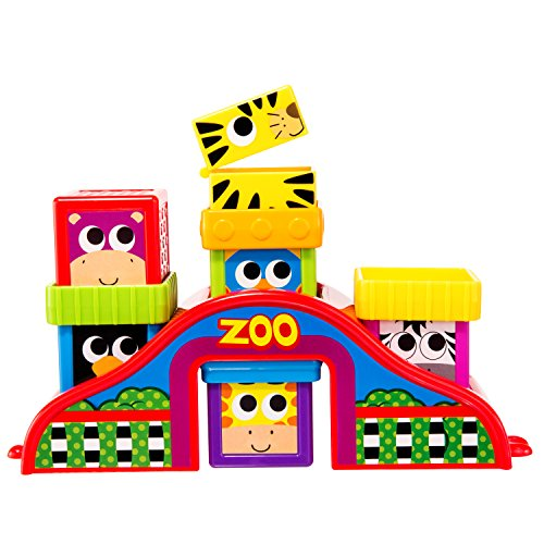 UPC 037977805161, Sassy Block Set, Zoo Friends
