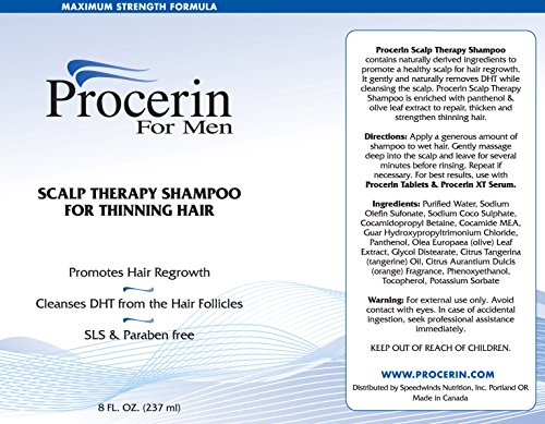 Procerin Male Hair Loss Shampoo