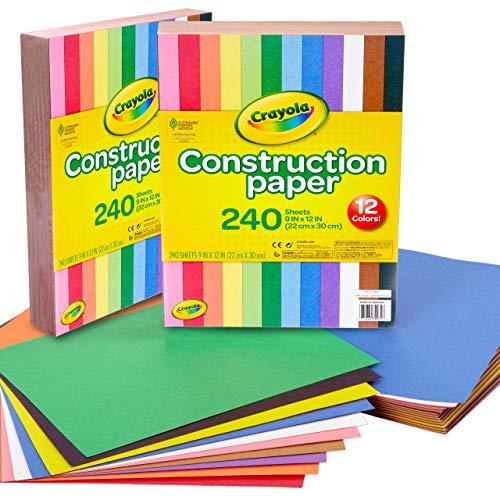 Crayola Bulk Construction Paper