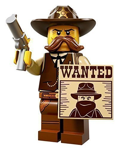 LEGO SERIES 13 SHERIFF BRAND NEW  SEALED