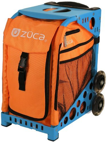 Zuca Sport Insert Bag (Caution) with Blue Sport Frame by ZUCA