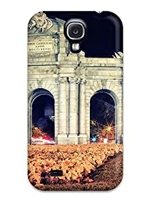 Cute Appearance Cover/tpu WnlfMoQ9596lAjKP Puerta De Alcal?? Case For Galaxy S4