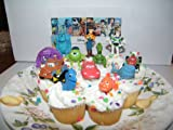 Disney Pixar Figure Cake Toppers / Cupcake Party Favor Decorations Set of 12 from Toy Story, Cars, Where's Nemo and Monsters University!