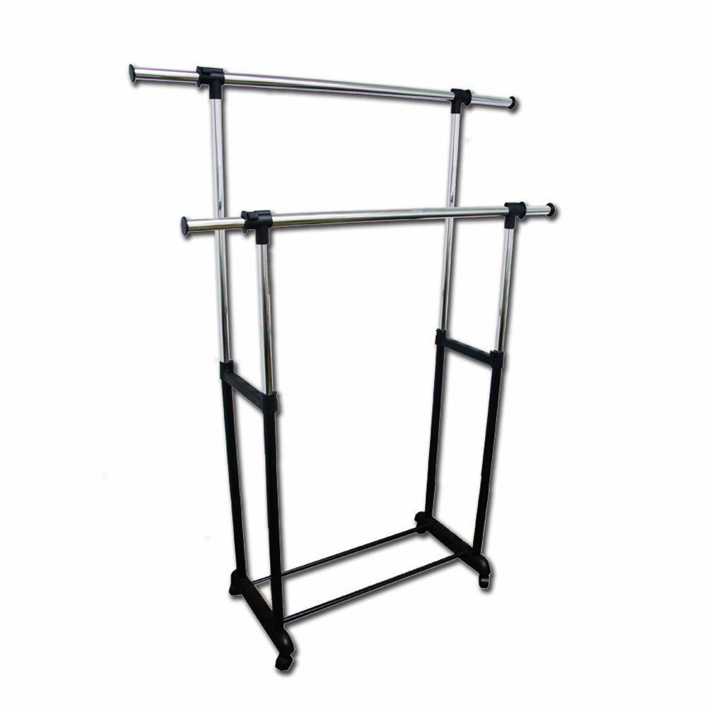 amazoncom ore double levers clothes rack home u0026 kitchen