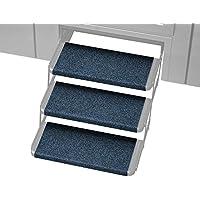 Prest-O-Fit 2-4063 Atlantic Blue 18 Wide Outrigger RV Step Rug, 3 Pack, 3