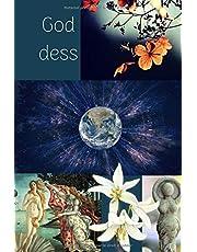 Goddess: Déesse - Cahier/Carnet/Journal de notes - 100 pages