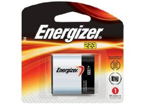Energizer CRP2 (223A) 6 Volt Lithium Battery (On a Card)