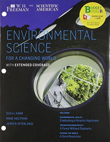 Download By Susan Karr Loose-leaf Version for Scientific American Environmental Science Expanded & LaunchPad 6 month access (1st First Edition) [Hardcover] pdf epub