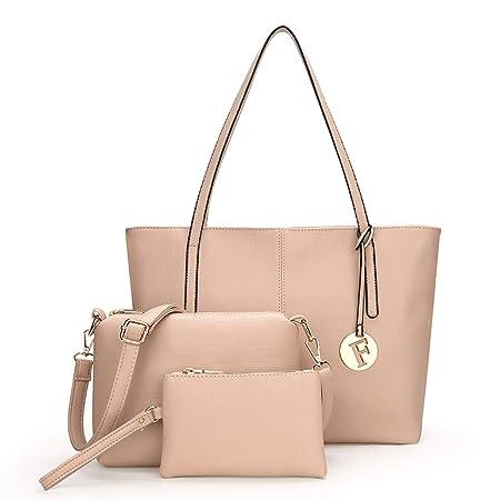 Amazon.com: Qzny Bolso de mano para mujer, bolso de mano de ...