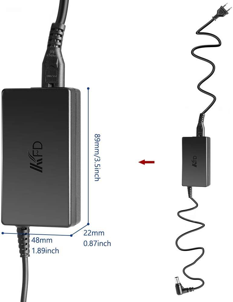 KFD - Cargador de 19 V 2,53 A para Samsung Gaming Monitor LC24FG73FQUXEN UA32J4088AJXXZ A4819_FDY 32