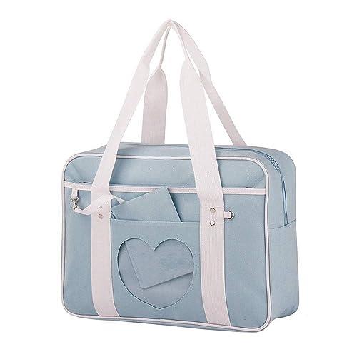 5761dec7a04d Ita Bag Heart Japanese Bag High School JK Bag Girls Duffle Purse Anime School  Uniform Shoulder