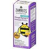Zarbee's Naturals Children's Complete Cough Syrup + Immune with Dark Honey & Elderberry