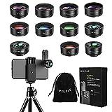 Best Iphone Lens Kits - Phone Camera Len,Wiilkac 12 in 1 Phone Lens Review