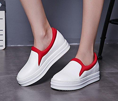 Mocassino Da Donna Latasa Slip On Comfort Mocassini Scarpe Bianche (colore Principale)