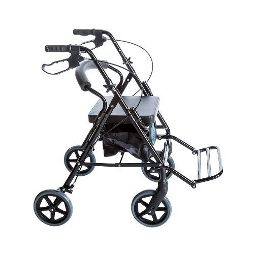 Combo Transport Rollator Chair W/8