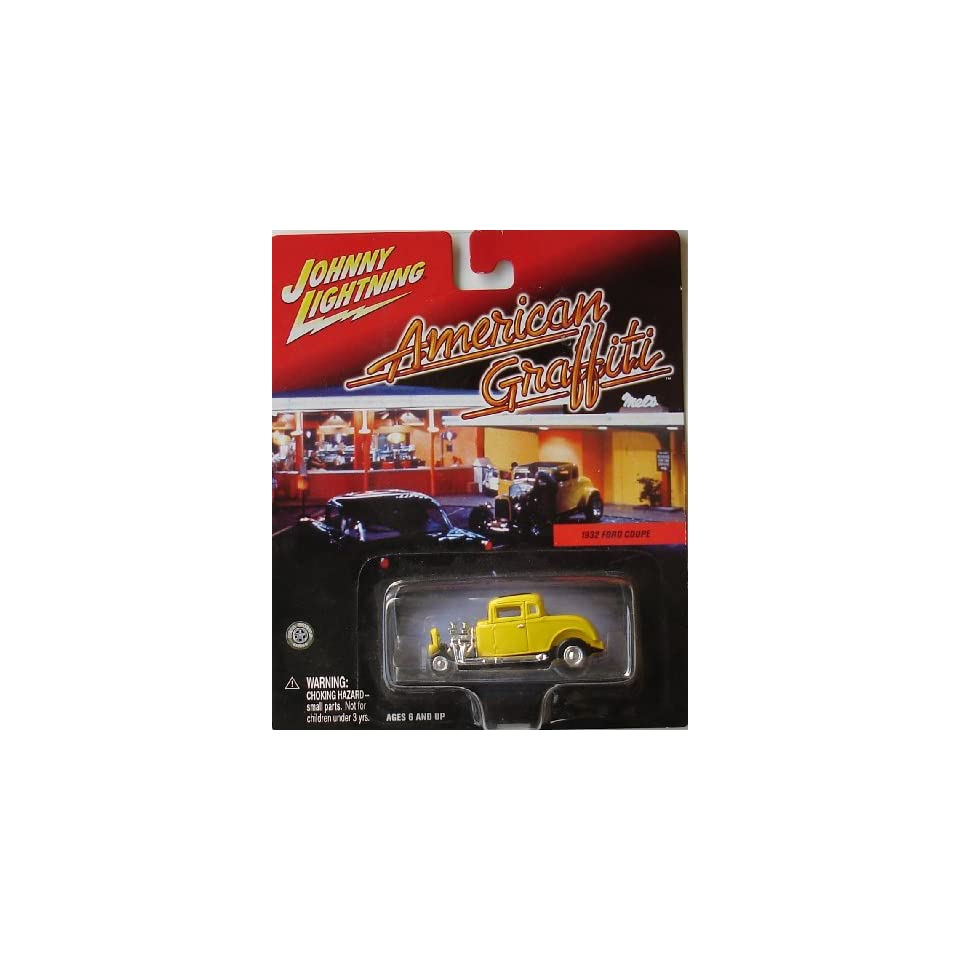 Johnny Lightning American Graffiti Die Cast Car 1932 Ford Coupe