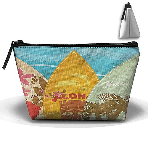 Surf Buggy (Hawaiian Beach Surfboards Travel And Home Zipper Up Portable Bag Storage Bag Hand Bag)