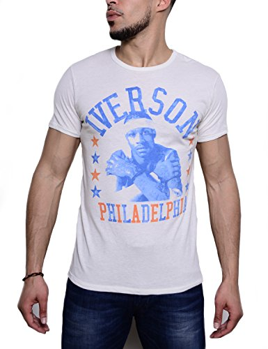 Roots Of Basketball Allen Iverson Philadelphia Photo Tee Large
