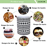 CLOCOR Laundry Basket,Laundry Hamper,Collapsible