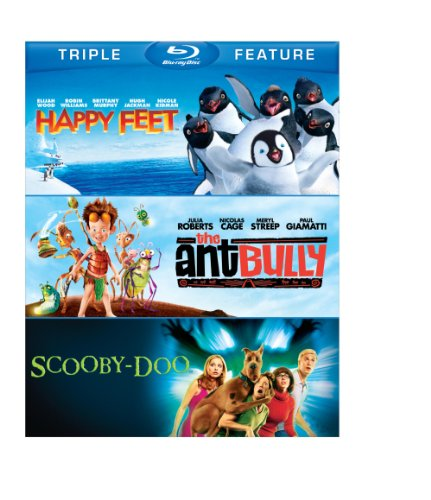 Happy Feet/Ant Bully, The/ Scooby-Doo: The Movie (BD) (3FE) [Blu-ray]