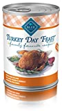 Blue Buffalo Family Favorite Canned Dog Food, Turkey Day Feast  (Pack Of 12 12.5-Ounce Cans) For Sale