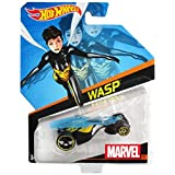 Hot Wheels, Marvel Character Cars, Wasp Die-Cast Vehicle #24 by Mattel