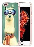 Iphone 6S Plus Case Animal, Apple Iphone 6 6S Plus Case A White Alpacas With Glasses
