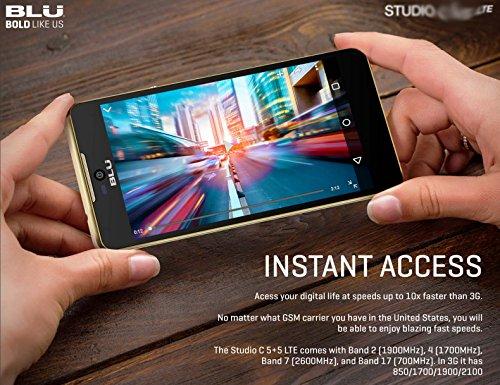 Straight Talk Phone Studio C 4G LTE Unlocked Android 5 1
